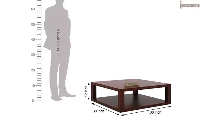Restal Coffee Table (Mahogany Finish)-6