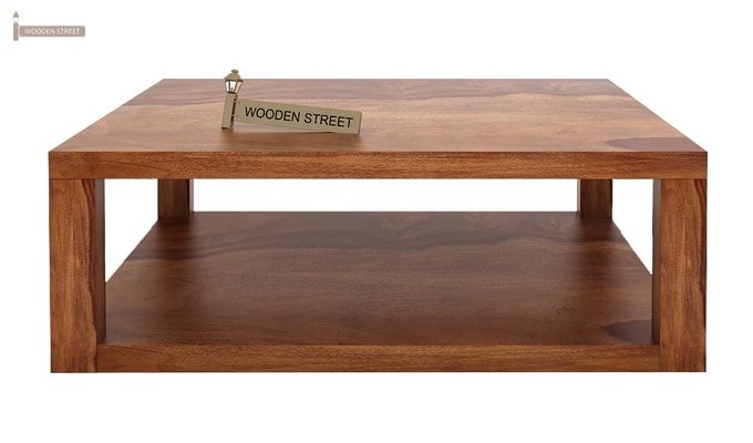Restal Coffee Table (Teak Finish)-3