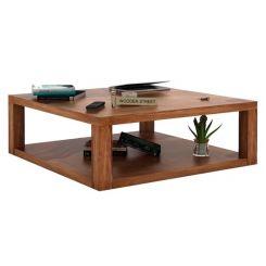 Restal Coffee Table (Teak Finish)