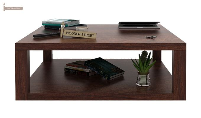 Restal Coffee Table (Walnut Finish)-2