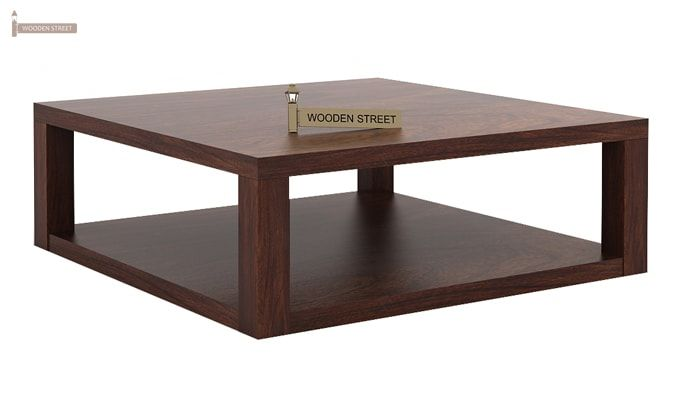 Restal Coffee Table (Walnut Finish)-4