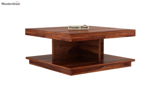 Ridell Tea Table (Honey Finish)-2