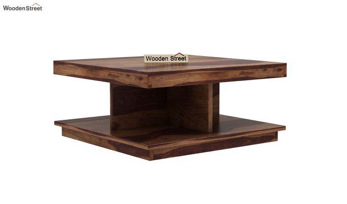 Ridell Tea Table (Teak Finish)-2