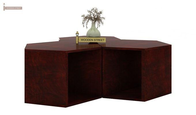 Ruth Centre Table - Set Of 3 (Mahogany Finish)-3
