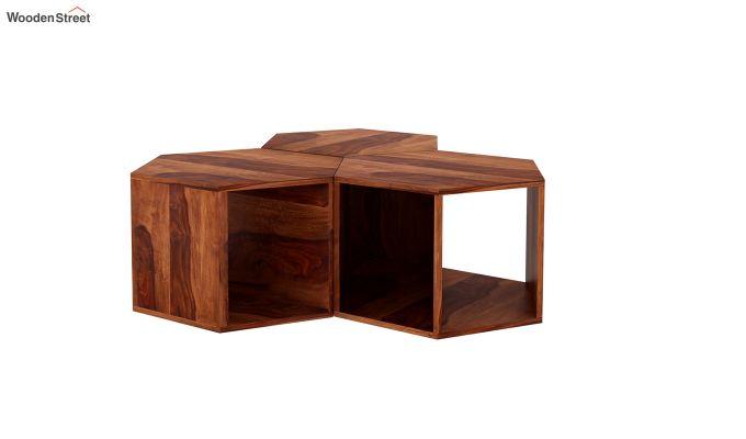 Ruth Centre Table - Set Of 3 (Honey Finish)-3