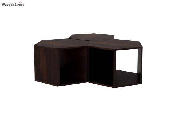 Ruth Centre Table - Set Of 3 (Walnut Finish)-3