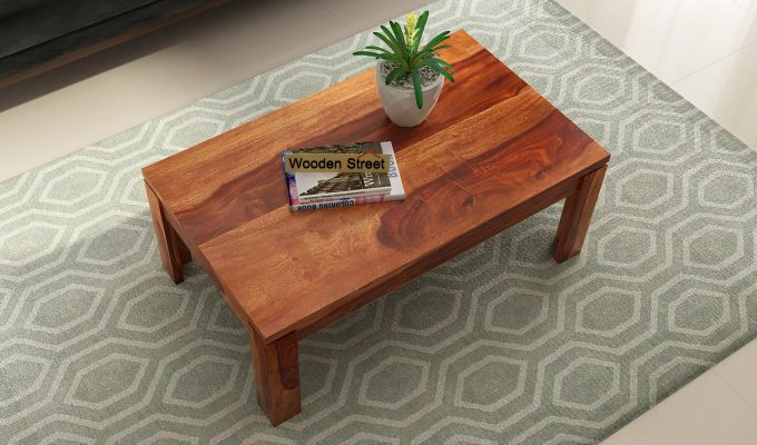 Sable Coffee Table (Honey Finish)-2