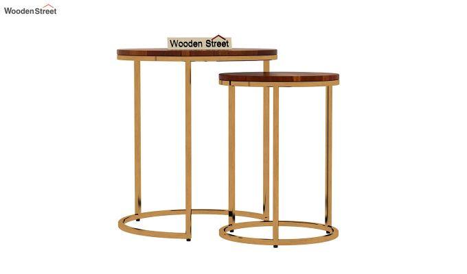 Silo Nest of Tables (Honey Finish)-3