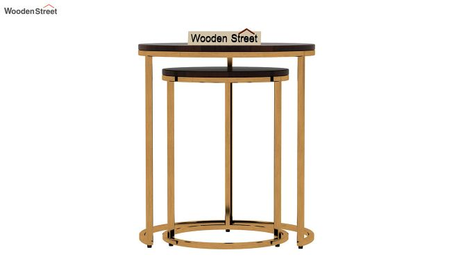 Silo Nest of Tables (Walnut Finish)-6