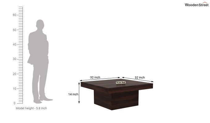 Sofar Coffee Table (Walnut Finish)-4