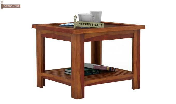 Stacy Coffee Table (Honey Finish)-2