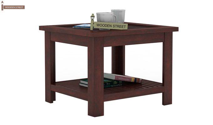 Stacy Coffee Table (Mahogany Finish)-1