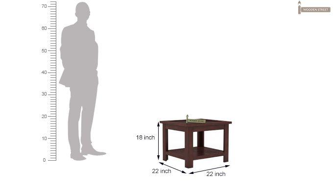 Stacy Coffee Table (Mahogany Finish)-5