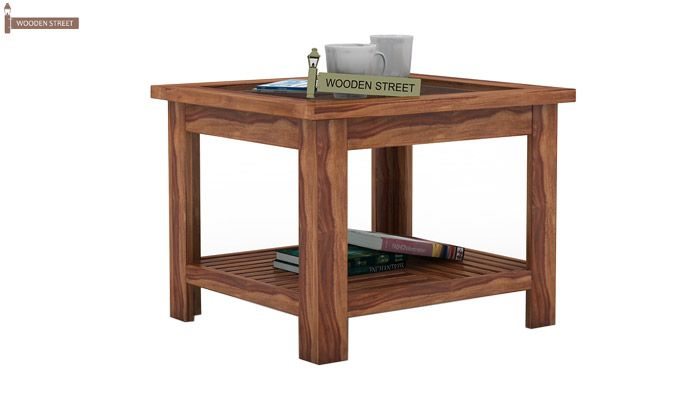 Stacy Coffee Table (Teak Finish)-1
