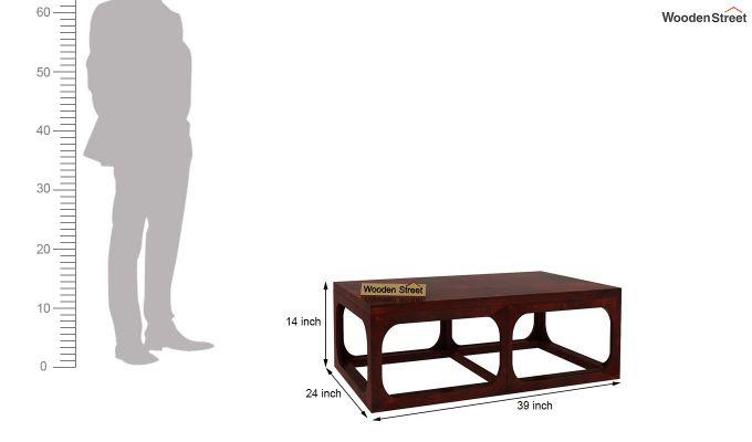 Stan Coffee Table (Mahogany Finish)-5