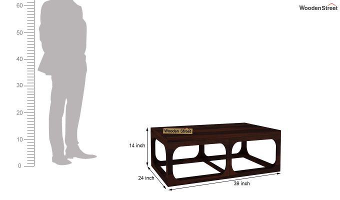 Stan Coffee Table (Walnut Finish)-5