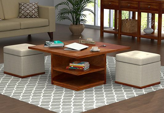 Steller Coffee Table (Honey Finish)