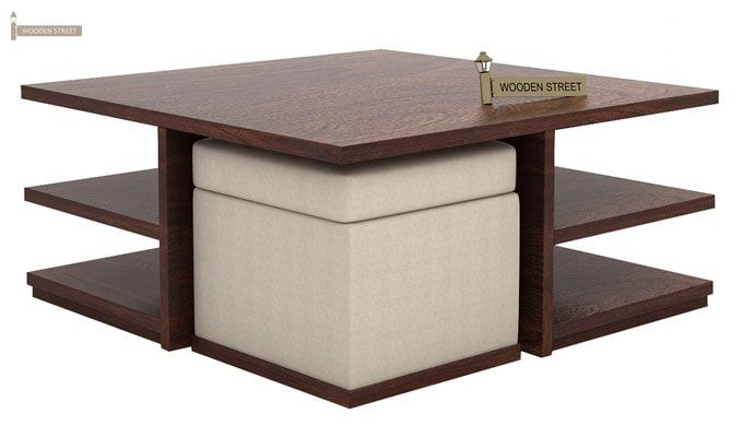 Steller Coffee Table (Walnut Finish)-4