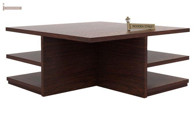 Steller Coffee Table (Walnut Finish)-6