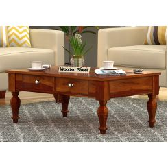 Trae Coffee Table (Honey Finish)