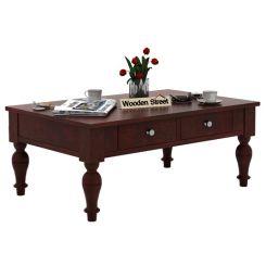 Trae Coffee Table (Mahogany Finish)