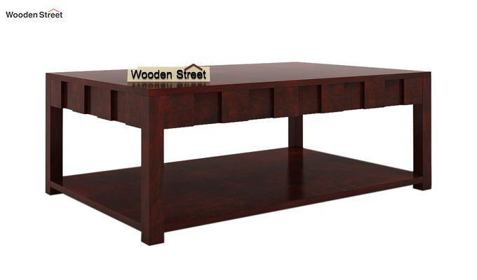 Travis Coffee Table (Mahogany Finish)-3