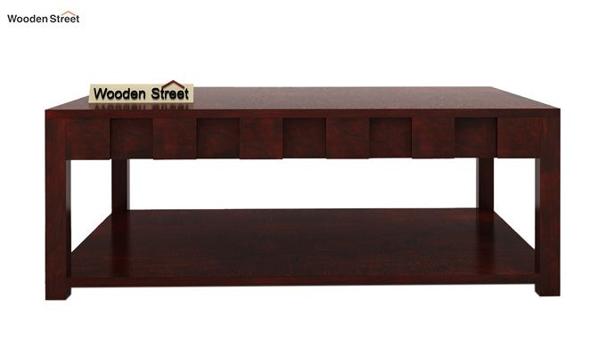 Travis Coffee Table (Mahogany Finish)-4
