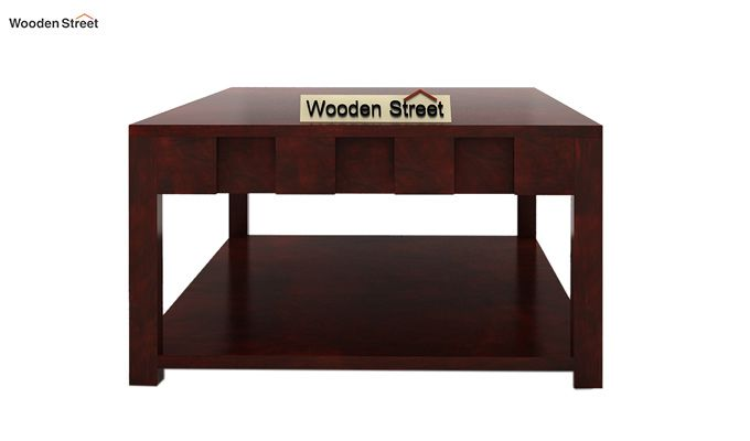 Travis Coffee Table (Mahogany Finish)-5