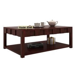 Travis Coffee Table (Mahogany Finish)