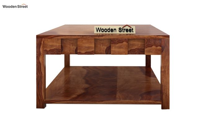 Travis Coffee Table (Teak Finish)-5
