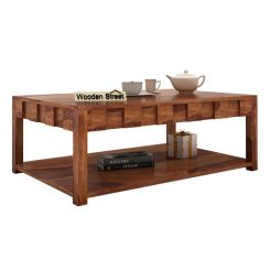 Travis Coffee Table (Teak Finish)