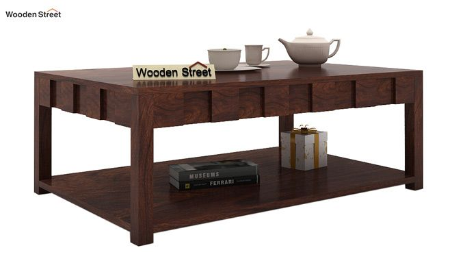Travis Coffee Table (Walnut Finish)-1