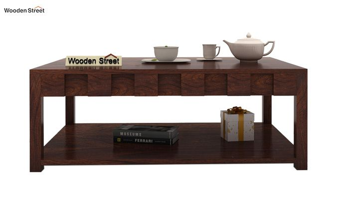 Travis Coffee Table (Walnut Finish)-2