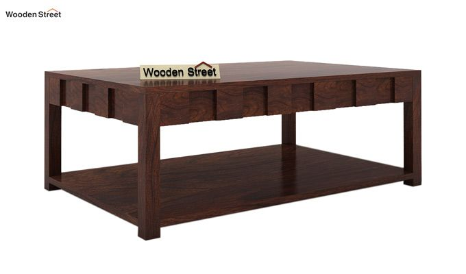 Travis Coffee Table (Walnut Finish)-3