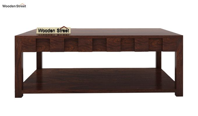 Travis Coffee Table (Walnut Finish)-4