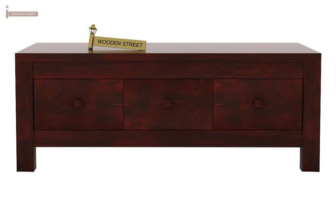 Turner 6 Drawer Coffee Table (Mahogany Finish)-4