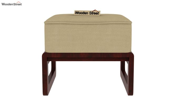 Vesta Coffee Table (Honey-Mahogany Finish, Irish Cream)-9