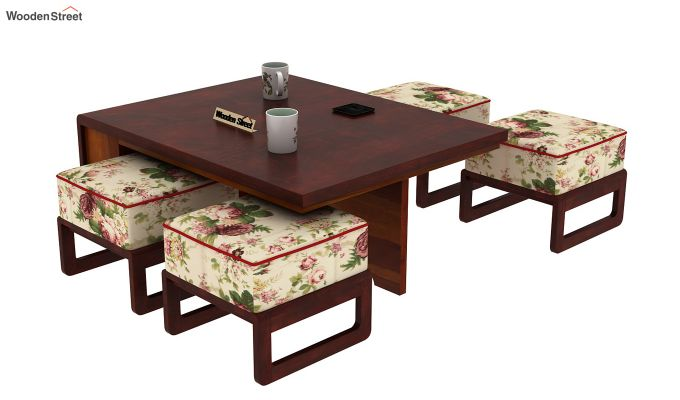 Vesta Coffee Table (Mahogany Finish)-12