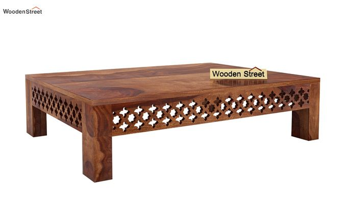 Vigo Coffee Table (Teak Finish)-3