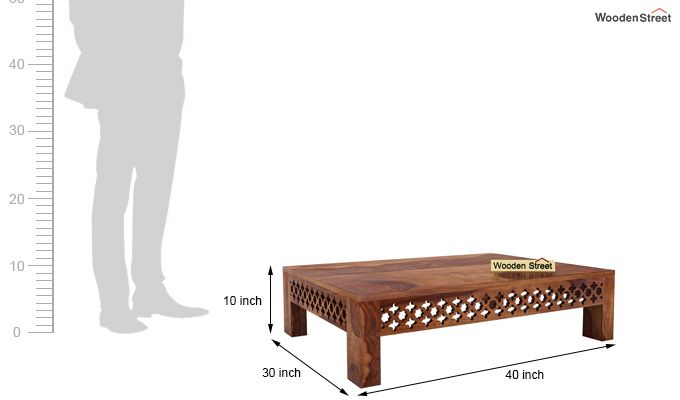 Vigo Coffee Table (Teak Finish)-6