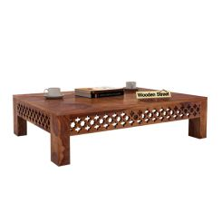 Vigo Coffee Table (Teak Finish)