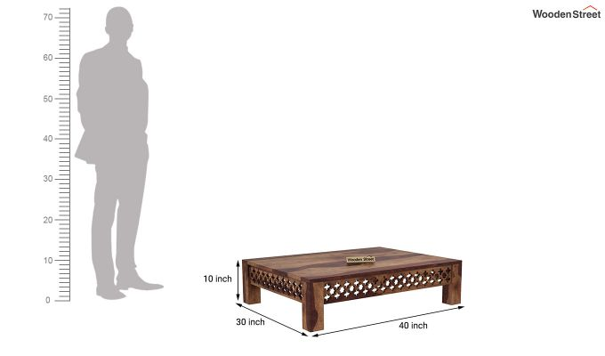 Vigo Coffee Table (Teak Finish)-5
