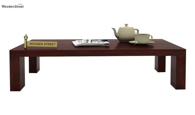 Vinessa Tea Table (Mahogany Finish)-1