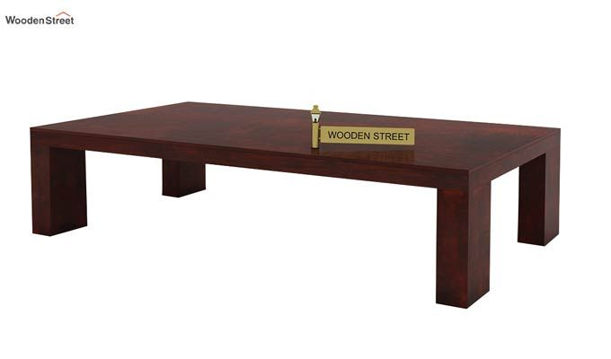 Vinessa Tea Table (Mahogany Finish)-3