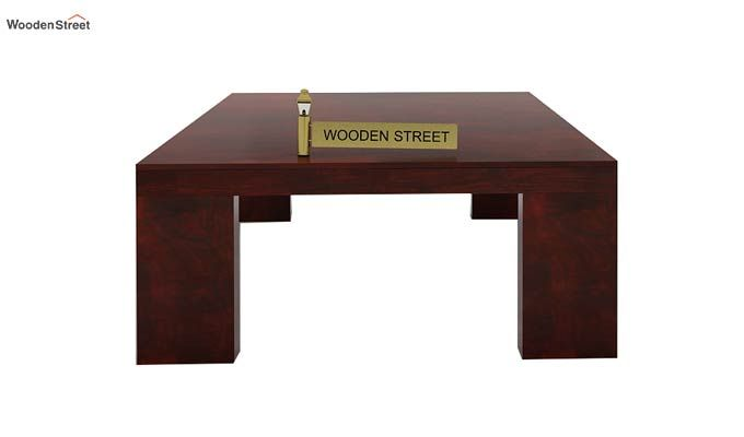 Vinessa Tea Table (Mahogany Finish)-4
