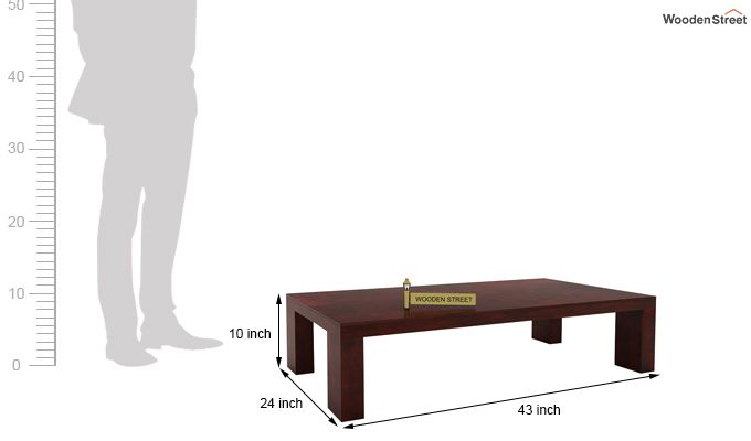 Vinessa Tea Table (Mahogany Finish)-5