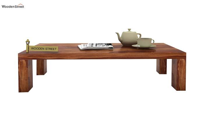 Vinessa Tea Table (Teak Finish)-1