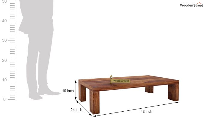 Vinessa Tea Table (Teak Finish)-5