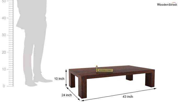 Vinessa Tea Table (Walnut Finish)-5