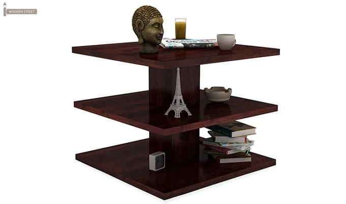 Watney Coffee Table (Mahogany Finish)-2
